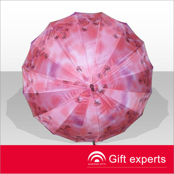 best quality outdoor grass umbrella,pretty ladies pink umbrella,customized logo printing