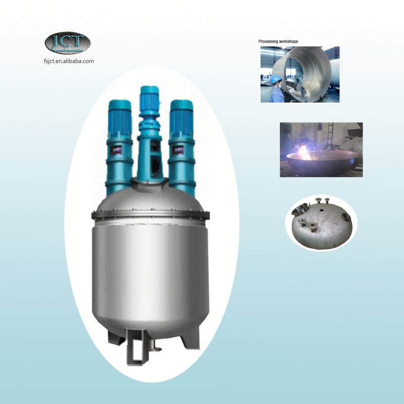 gum damar resin reactor machine