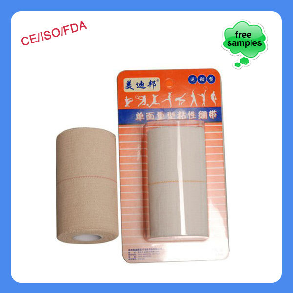 Easy Tear Skin Color Zinc Oxide Adhesive Sports Strapping Tape