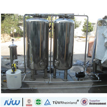 commercial alkaline water 304 SS water treatment tank HJ-061