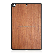 Natural wood pc case for ipad Mini3, for ipad Mini3 wooden back cover,wood case