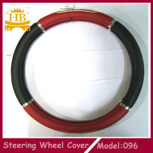 Foam pvc rubber steering wheel cover decoration car accessories