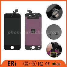 12 months warranty white lcd for iphone 5 phone / lcd digitizer parts for 5G, phone lcd assembly 5G