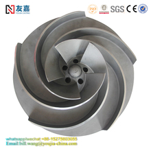 Cast Iron Water Pump Impeller/Blower Impeller ISO9001 Stainless Steel