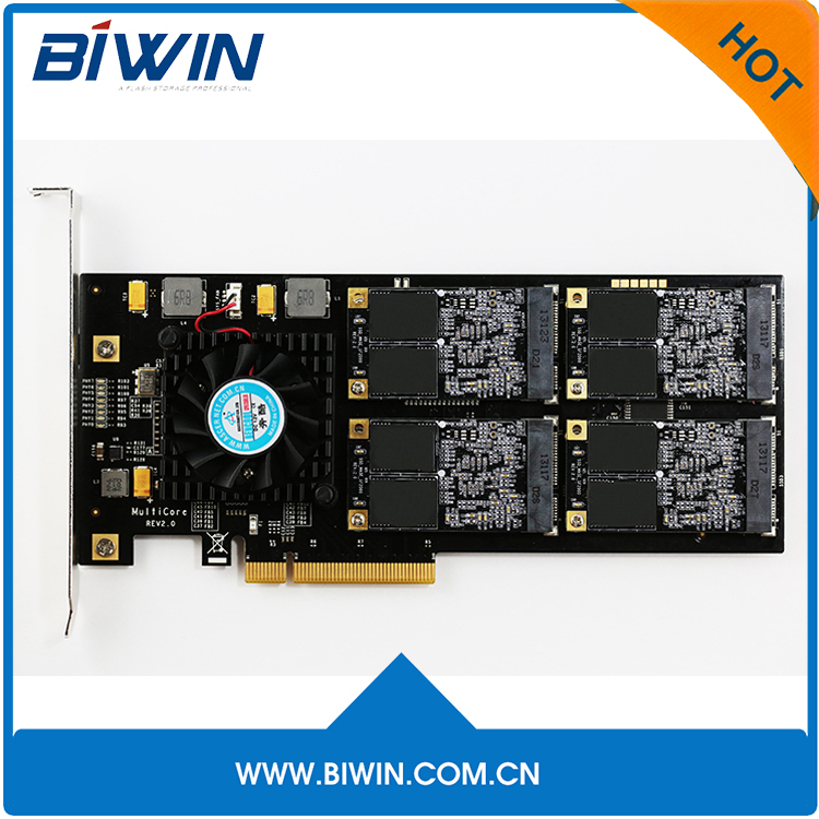 Biwin 2TB PCIE 3.0 SSD pcie x8 network card for laptop server cabinet