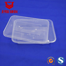 18467 Biodegradable Plastic Lunch Box 1200ml Clear Disposable Food Containers