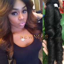 Newness Hair natural part hair closures malaysian body wave 100% grade aaa human hair