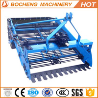 China supplier hot sale 2 row potato harvester agriculture machine