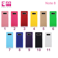 Ultra Slim hard PC Matte Colorful Phone Case Back Cover For Samsung note 8