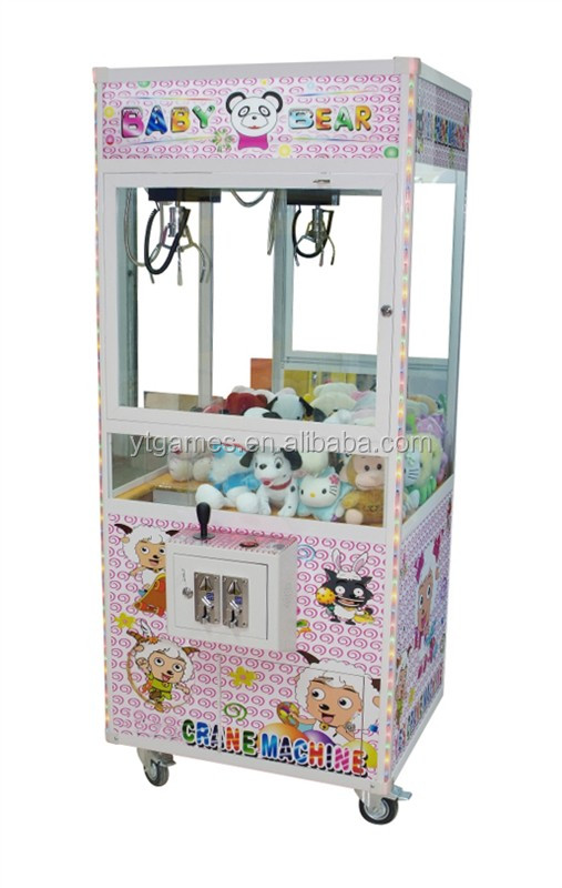 Good price crane game machine/toy claw machine Baby Gift Prize Vending Game Machines for Sale