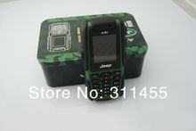 Freeshipping, Jeep A8i Outdoor Military Waterproof phone Shockproof cell phone 1.3mp camera Dual SIM,