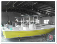 Liya 25feet oceania boats deep sea fishing boats for sale