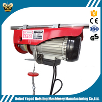 china supplier best price electric pa mini wire rope construction building winch