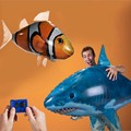 Flying Shark RC Remote Control Inflatable Fish Balloon Toy Flying fish