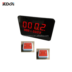 Restaurant & Hotel Supplies Waiter Restaurant Wireless Ordering Service 433.92 Electronic Table Buzzer Restaurant Calling System