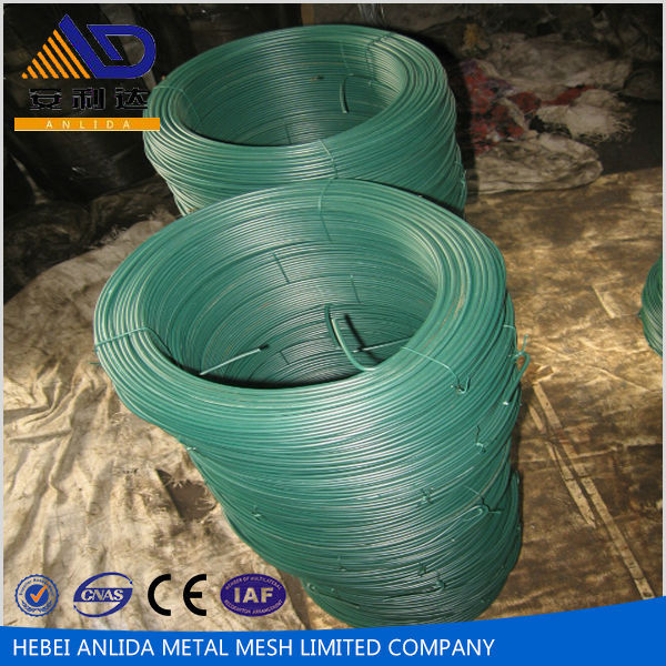 Anping Anlida ISO 9001 Certified Low Price PVC Coated Iron Wire with best cost performance