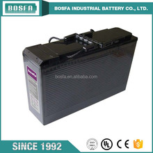 long life solar batte 12v 100ah portable 110v battery pack