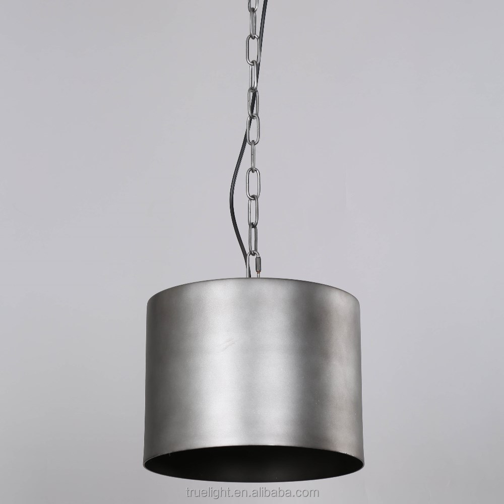 bucket chandelier lighting pendant lights hanging antique lamp with E27