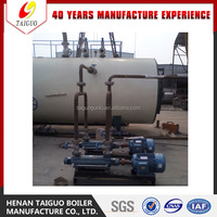 WNS Series 3-pass Fire Tube Gas fired Steam Boiler for Cooking