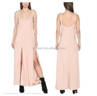 Sexy Summer Long Maxi Evening Party Dress For Women Spaghetti Strap Casual Dresses