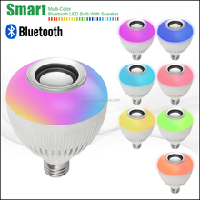 E27 Wireless Bluetooth Smart LED Light Bulb Music Speaker Lamp Audio Speaker for iPhone