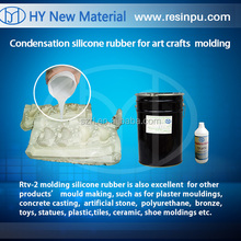Tin Cure RTV silicone rubber