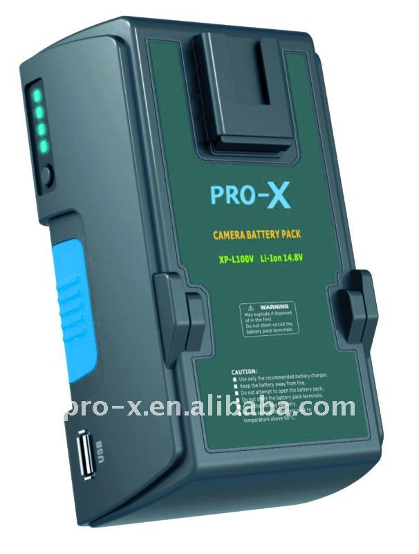 PRO-X XP-L100V Optimized Function Battery in Double Link