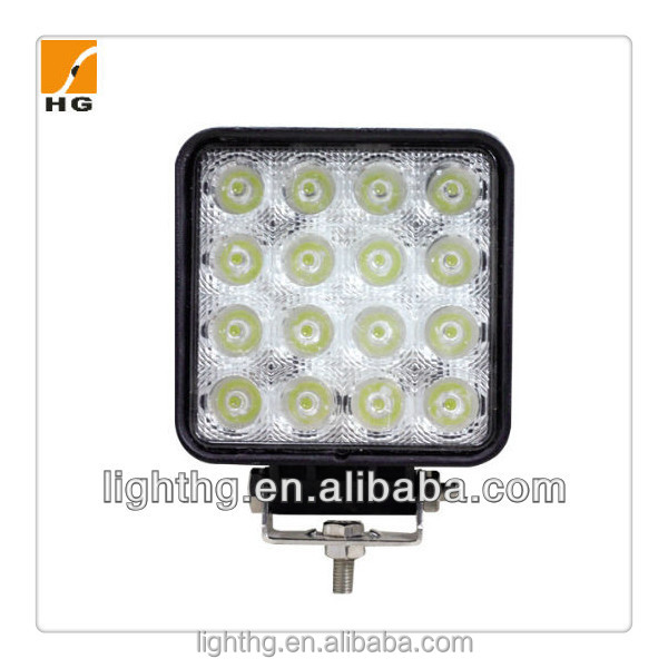 HG-856 48W Epistar Led Work Light Led Driving Light For Atv Motorcycle Jeep Boat 4*4 Offroad Car Truck Vehicles