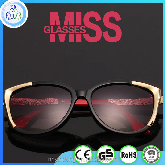 Newest 2016 Fashionable Sunglasses Women Quality Shades Eyewear Sunglasses