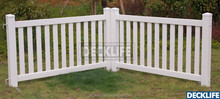 PVC Portable Event Fence Temporary Fence White EFFT3078