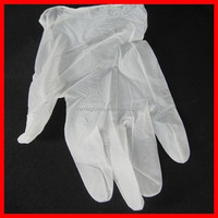 Clear Medical Vinyl Disposable Exam Vinyl Gloves/Powdered and powder free vinyl gloves factory fast shipping price passed CE ISO