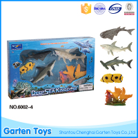 Promotion customized mini diy soft safe vinyl fish toy