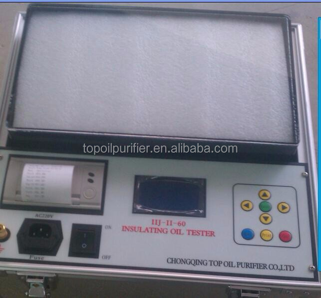 IIJ-80KV portable online transformer oil dielectric strength tester for sale