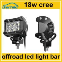 "4"" 18w cree led working light bar car auxiliary fog lamp"