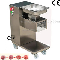 500KG/H Stainless Steel 2.5mm-25mm Customized Blade 110v 220v Electric Commercial Restaurant Meat Dicing Machine