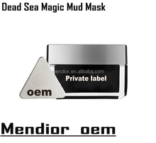 Mendior 2017 Hot sale OEM Magnetic mud mask dead sea mud magnetic therapy face mask