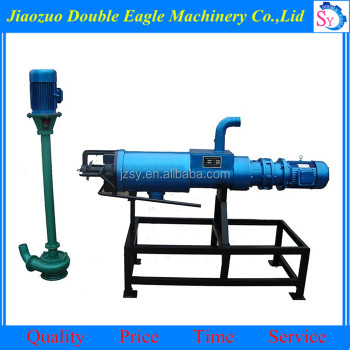 High efficiency Industrial poultryl fecal treatment dewatering machine