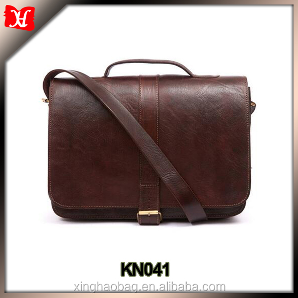 mens leather briefcase leather business bag for man