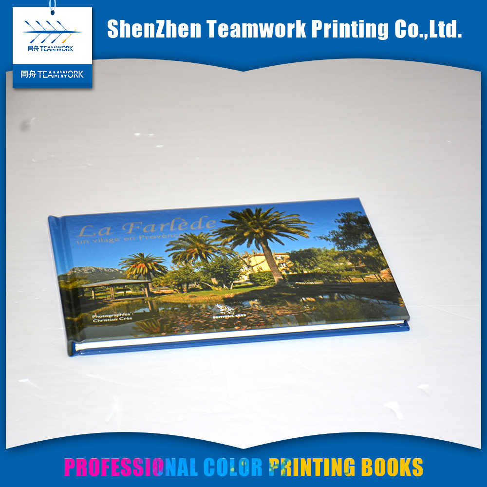 custom hardcover book printing service on demand