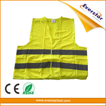 EN20471 Polyester High Visibility Motorcycle Reflective Safety Vest