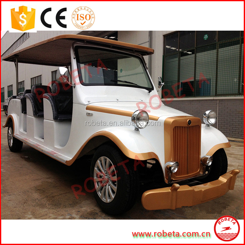 Passenger Battery Powered Electric Mini Bus/ electrical 8 seats resort car