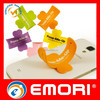 top quality eco-friendly funny one touch you silicone mobile cell phone stand