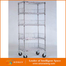 NSF lee rowan wire shelving for grocery