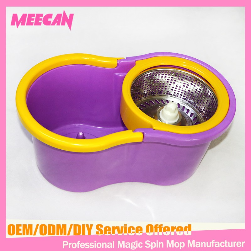Popular in Vietnam 360 Cyclonic Spin Mop With 2 Mop Heads