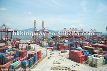 Small order consolidate shipments from China to Africa