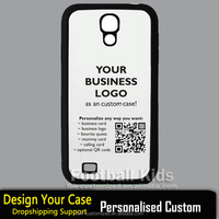 2015 OEM custom logo hard pc case for Samsung Galaxy s4