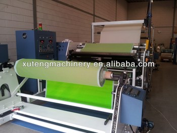 RTS1600 Roller Coating Machine For Hot Melt Glue