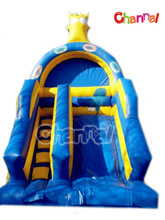 Inflatable Slide Commercial Deluxe Character Space Saving Slide