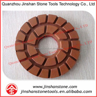 JS Diamond resin polishing pads 5inch Hard Pad