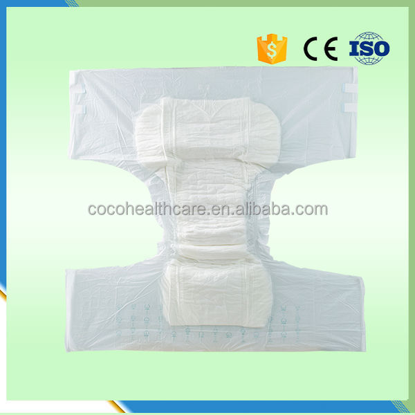 Hot -Sale Super Absorbent Leak Prevention Channel China COCO Adult Diaper Brands